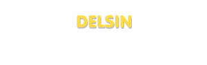 Der Vorname Delsin