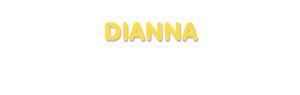 Der Vorname Dianna