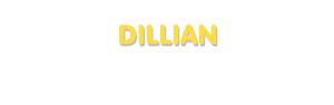 Der Vorname Dillian