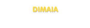 Der Vorname Dimaia