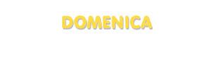 Der Vorname Domenica