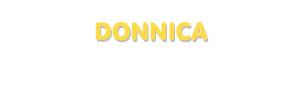 Der Vorname Donnica
