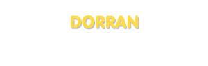 Der Vorname Dorran