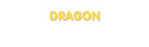 Der Vorname Dragon