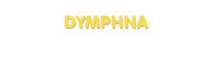 Der Vorname Dymphna