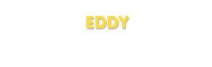 Der Vorname Eddy
