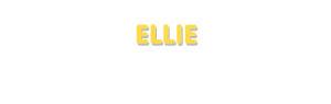 Der Vorname Ellie