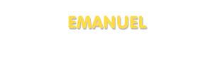 Der Vorname Emanuel