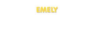 Der Vorname Emely