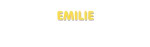 Der Vorname Emilie