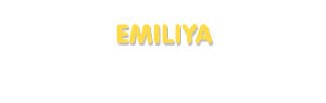 Der Vorname Emiliya