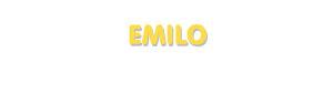 Der Vorname Emilo