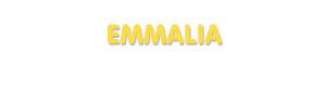Der Vorname Emmalia