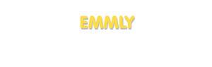 Der Vorname Emmly