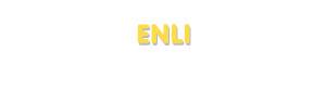 Der Vorname Enli