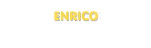 Der Vorname Enrico