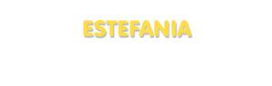 Der Vorname Estefania