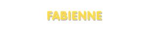 Der Vorname Fabienne