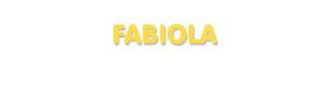 Der Vorname Fabiola