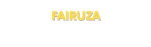 Der Vorname Fairuza