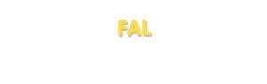 Der Vorname Fal
