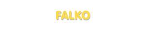 Der Vorname Falko