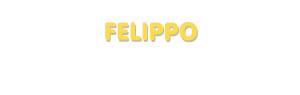Der Vorname Felippo