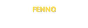 Der Vorname Fenno