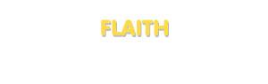 Der Vorname Flaith