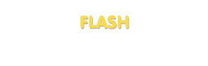 Der Vorname Flash
