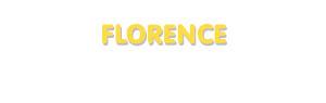 Der Vorname Florence