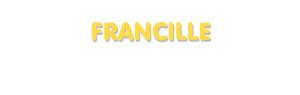 Der Vorname Francille