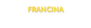 Der Vorname Francina