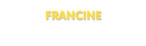 Der Vorname Francine