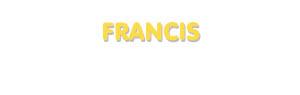 Der Vorname Francis