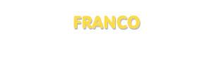 Der Vorname Franco