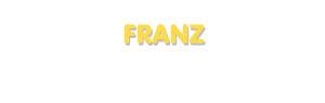 Der Vorname Franz