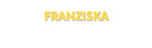 Der Vorname Franziska