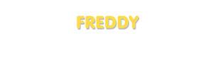 Der Vorname Freddy