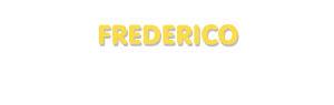 Der Vorname Frederico