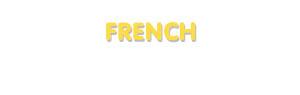 Der Vorname French
