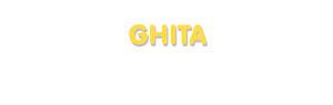Der Vorname Ghita