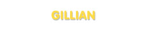 Der Vorname Gillian