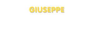 Der Vorname Giuseppe