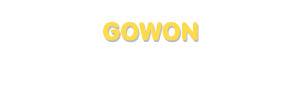 Der Vorname Gowon