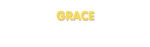 Der Vorname Grace
