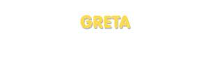 Der Vorname Greta