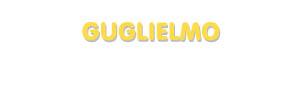 Der Vorname Guglielmo