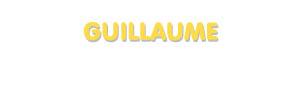 Der Vorname Guillaume