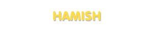 Der Vorname Hamish